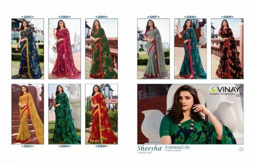 Vinay Sheesha Starwalk Vol 56 Digital Prachi Desai Saree Sari Wholesale Catalog 9 Pcs 15 510x327 - Vinay Sheesha Starwalk Vol 56 Prachi Desai Saree Sari Wholesale Catalog 9 Pcs