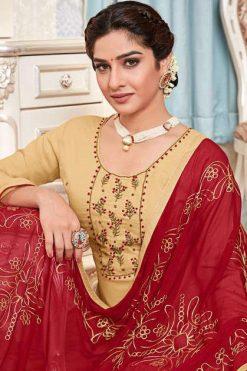 AVC Surbhi Handwork Salwar Suit Wholesale Catalog 6 Pcs