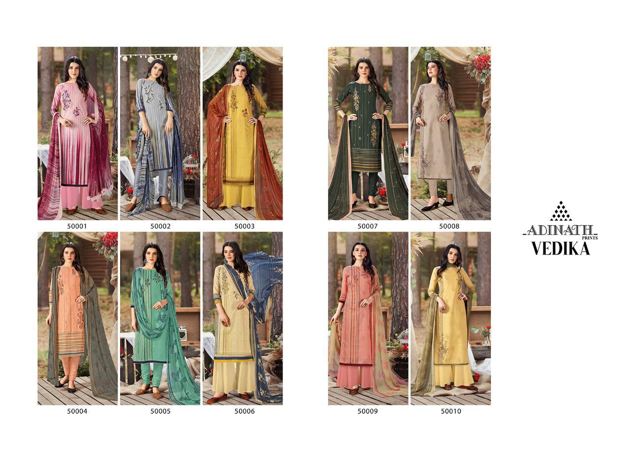 Adinath Vedika Pashmina Salwar Suit Wholesale Catalog 10 Pcs 12 - Adinath Vedika Pashmina Salwar Suit Wholesale Catalog 10 Pcs