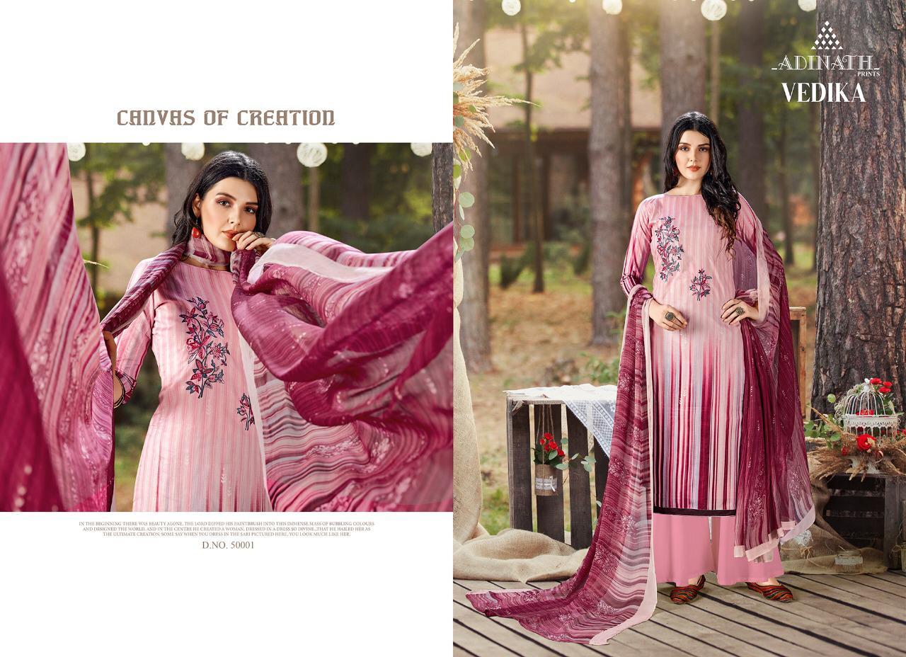 Adinath Vedika Pashmina Salwar Suit Wholesale Catalog 10 Pcs 3 - Adinath Vedika Pashmina Salwar Suit Wholesale Catalog 10 Pcs
