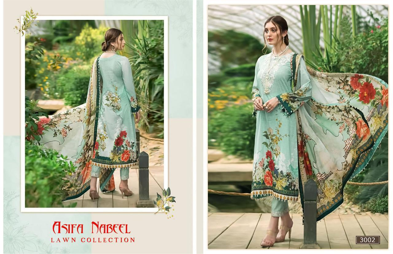 Asifa Nabeel Vol 3 lawn collection Salwar Suit Wholesale Catalog 6 Pcs 16 - Asifa Nabeel Vol 3 Lawn Collection Salwar Suit Wholesale Catalog 6 Pcs