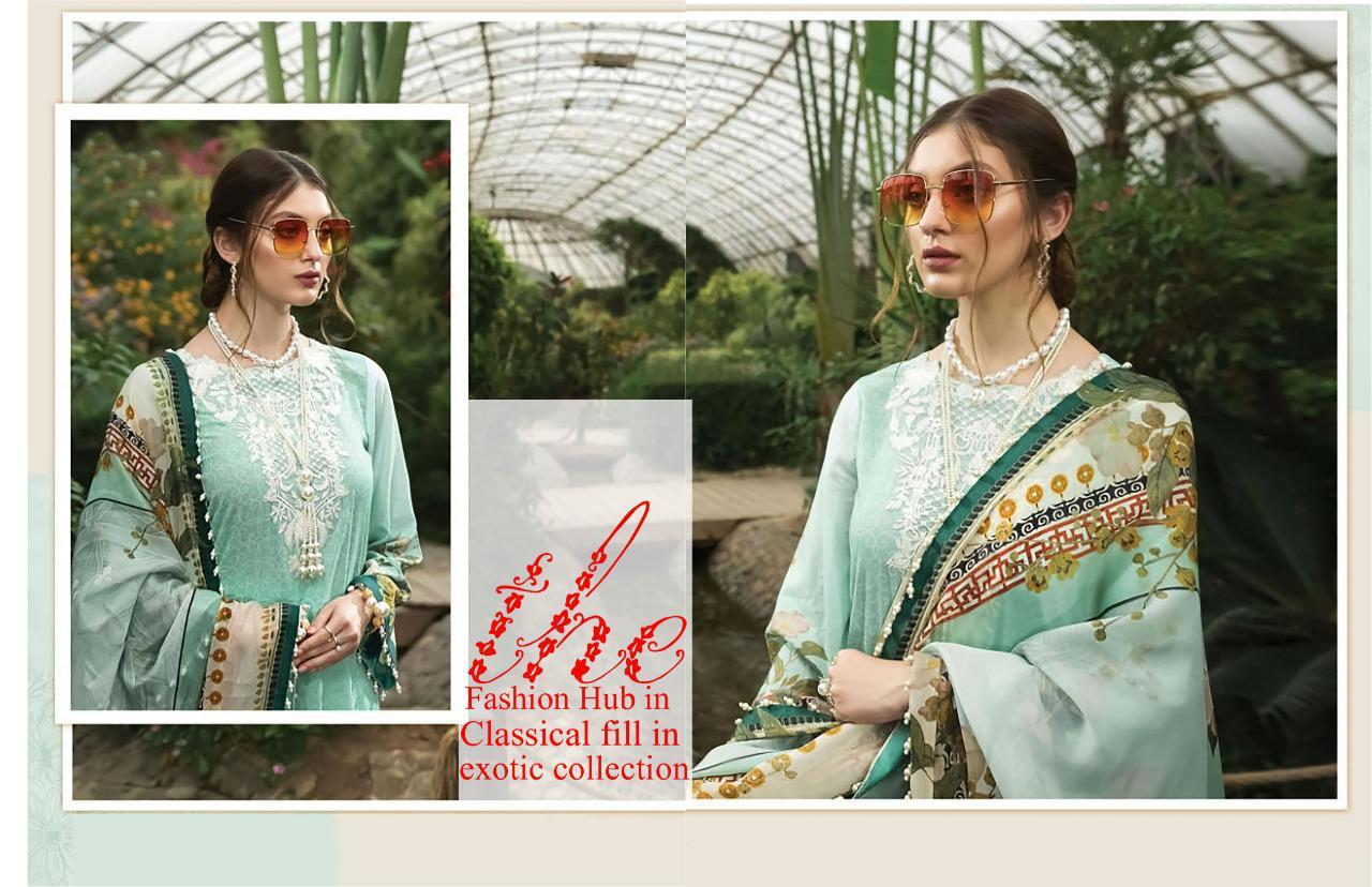Asifa Nabeel Vol 3 lawn collection Salwar Suit Wholesale Catalog 6 Pcs 17 - Asifa Nabeel Vol 3 Lawn Collection Salwar Suit Wholesale Catalog 6 Pcs