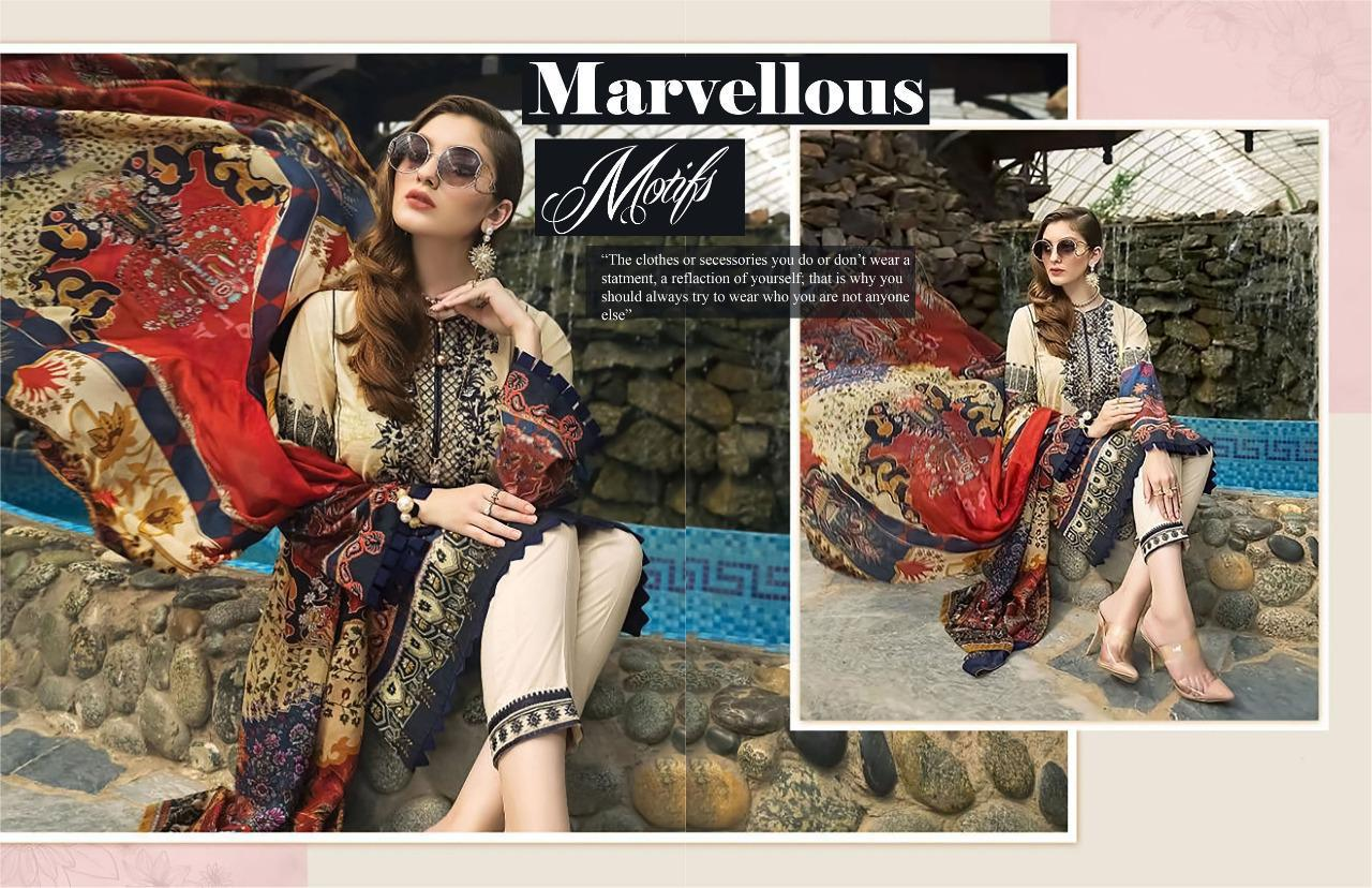 Asifa Nabeel Vol 3 lawn collection Salwar Suit Wholesale Catalog 6 Pcs 19 - Asifa Nabeel Vol 3 Lawn Collection Salwar Suit Wholesale Catalog 6 Pcs