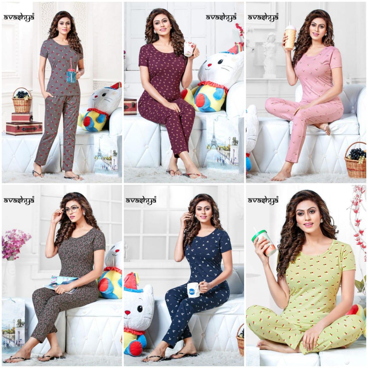 Avashya Premium Night Wear Vol 2 Wholesale Catalog 6 Pcs 7 - Avashya Premium Night Wear Vol 2 Wholesale Catalog 6 Pcs