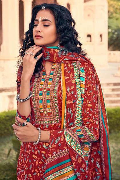 Belliza Aisha Vol 2 Pashmina Salwar Suit Wholesale Catalog 10 Pcs