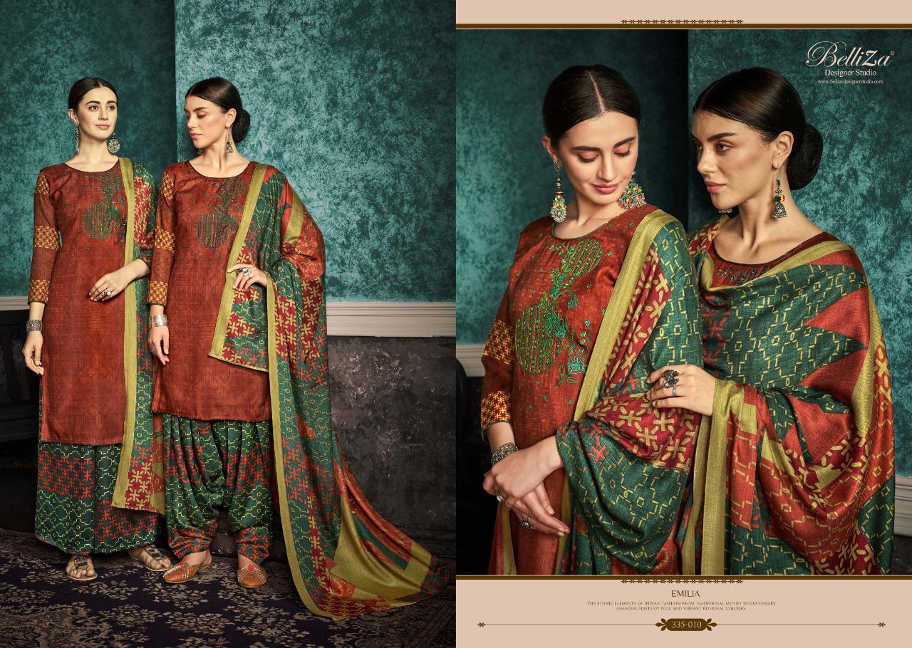 Belliza Emilia Pashmina Salwar Suit Wholesale Catalog 10 Pcs 10 - Belliza Emilia Pashmina Salwar Suit Wholesale Catalog 10 Pcs