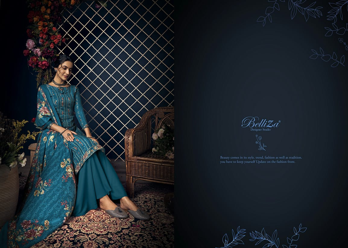 Belliza Kashmiriyat Pashmina Salwar Suit Wholesale Catalog 10 Pcs 9 - Belliza Kashmiriyat Pashmina Salwar Suit Wholesale Catalog 10 Pcs