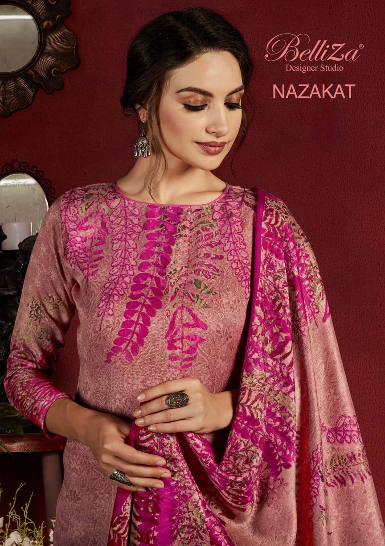 Belliza Nazakat Pashmina Salwar Suit Wholesale Catalog 10 Pcs 1 - Belliza Nazakat Pashmina Salwar Suit Wholesale Catalog 10 Pcs