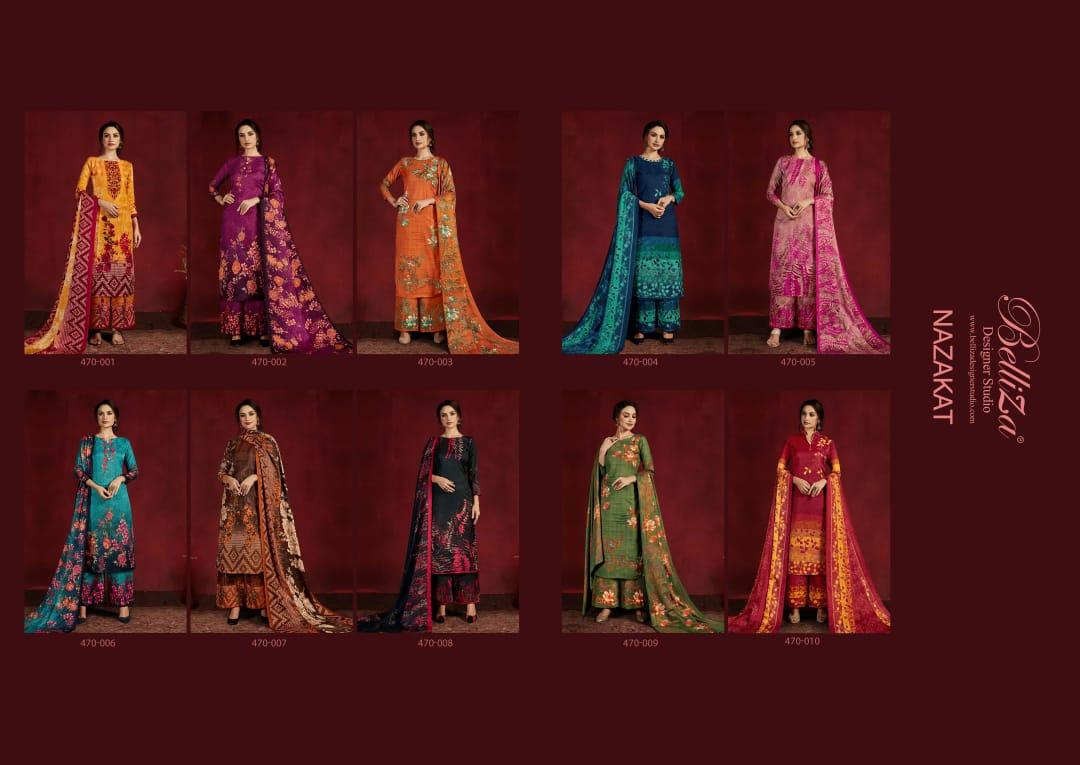 Belliza Nazakat Pashmina Salwar Suit Wholesale Catalog 10 Pcs 14 - Belliza Nazakat Pashmina Salwar Suit Wholesale Catalog 10 Pcs