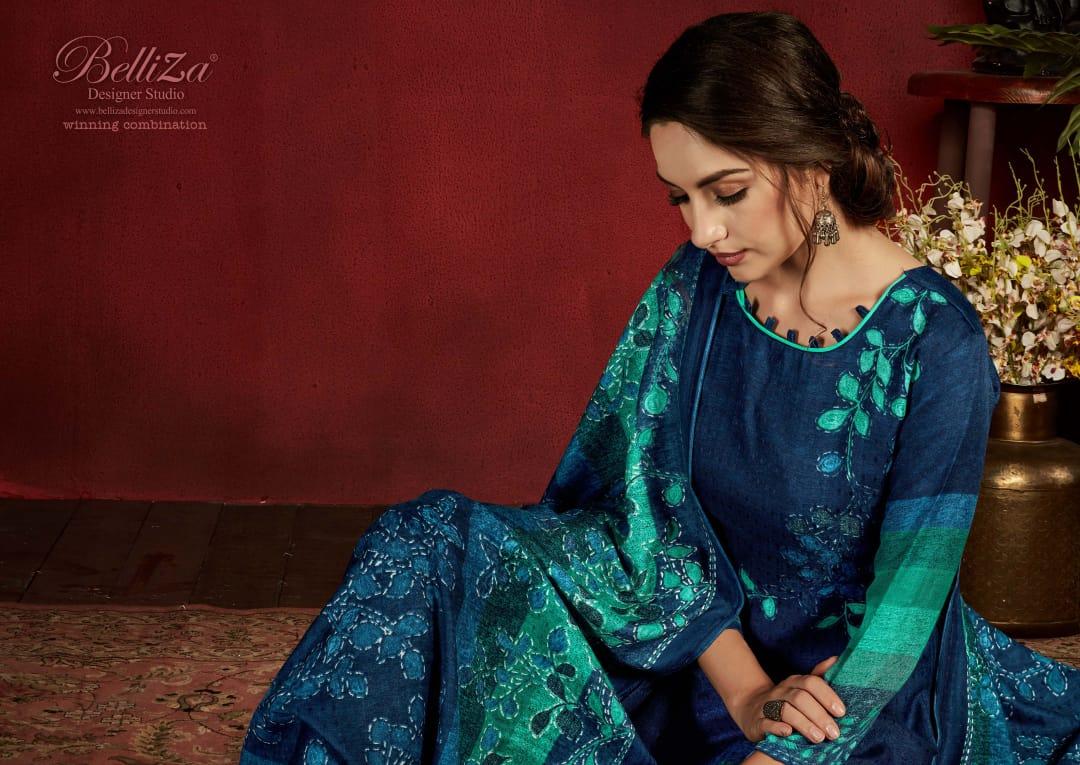 Belliza Nazakat Pashmina Salwar Suit Wholesale Catalog 10 Pcs 5 - Belliza Nazakat Pashmina Salwar Suit Wholesale Catalog 10 Pcs