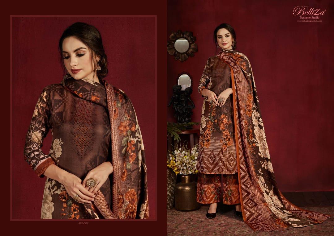Belliza Nazakat Pashmina Salwar Suit Wholesale Catalog 10 Pcs 6 - Belliza Nazakat Pashmina Salwar Suit Wholesale Catalog 10 Pcs