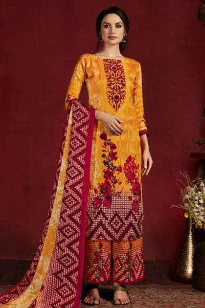 Belliza Nazakat Pashmina Salwar Suit Wholesale Catalog 10 Pcs