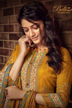 Belliza Ruhani Pashmina Salwar Suit Wholesale Catalog 10 Pcs