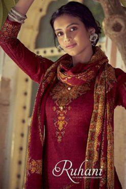 Belliza Ruhani Vol 2 Pashmina Salwar Suit Wholesale Catalog 10 Pcs