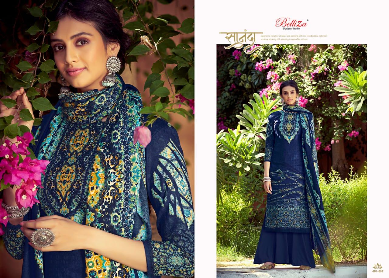 Belliza Ruhani Vol 2 Pashmina Salwar Suit Wholesale Catalog 10 Pcs 8 - Belliza Ruhani Vol 2 Pashmina Salwar Suit Wholesale Catalog 10 Pcs