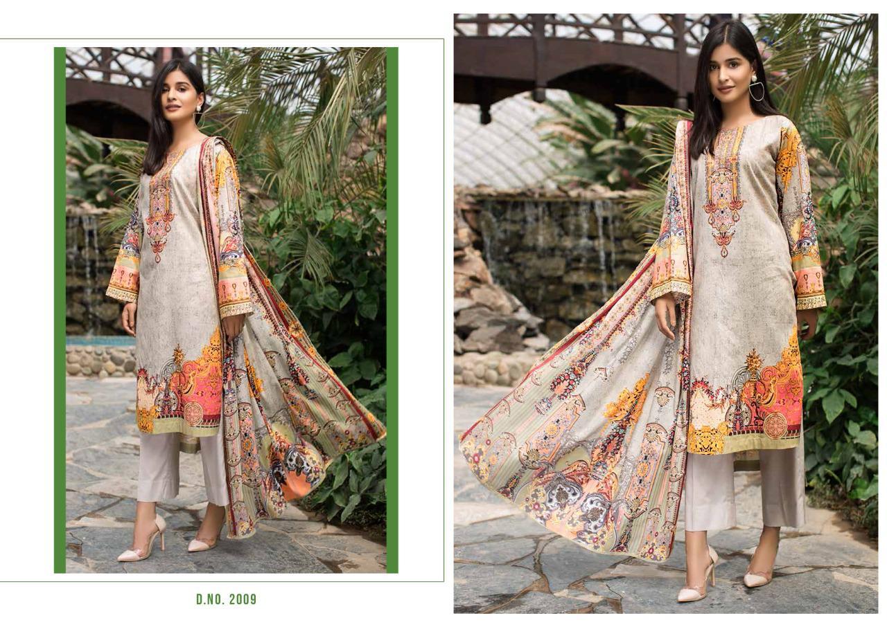 Bin Saeed Mahnoor Vol 2 Lawn Collection Salwar Suit Wholesale Catalog 10 Pcs 12 - Bin Saeed Mahnoor Vol 2 Lawn Collection Salwar Suit Wholesale Catalog 10 Pcs