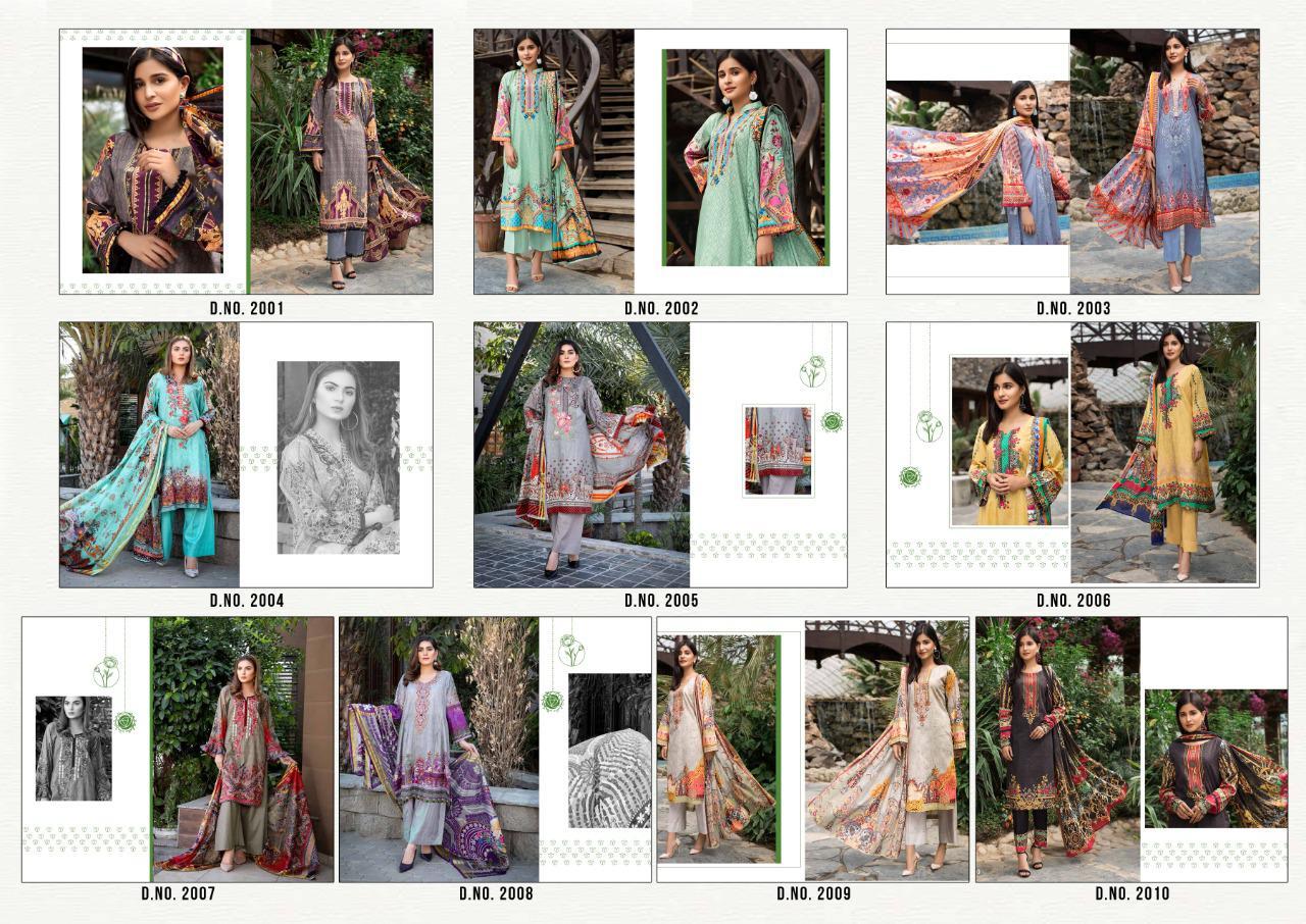 Bin Saeed Mahnoor Vol 2 Lawn Collection Salwar Suit Wholesale Catalog 10 Pcs 15 - Bin Saeed Mahnoor Vol 2 Lawn Collection Salwar Suit Wholesale Catalog 10 Pcs