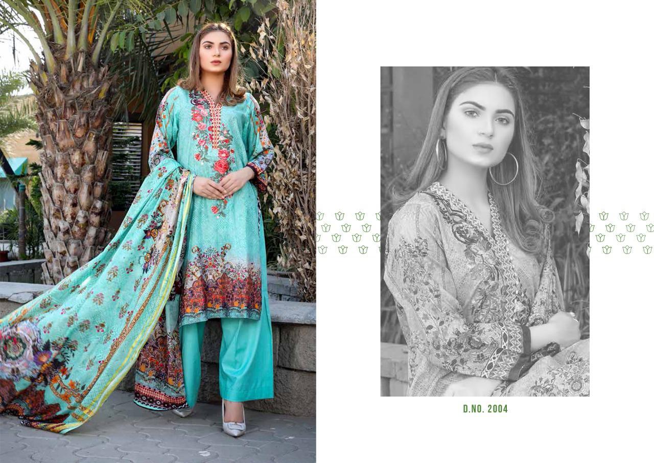Bin Saeed Mahnoor Vol 2 Lawn Collection Salwar Suit Wholesale Catalog 10 Pcs 6 - Bin Saeed Mahnoor Vol 2 Lawn Collection Salwar Suit Wholesale Catalog 10 Pcs