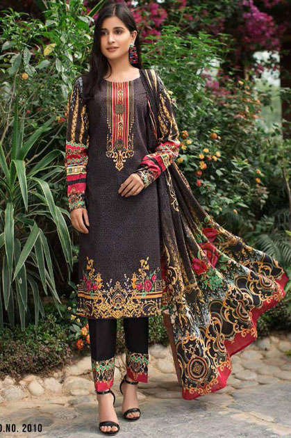 Bin Saeed Mahnoor Vol 2 Lawn Collection Salwar Suit Wholesale Catalog 10 Pcs