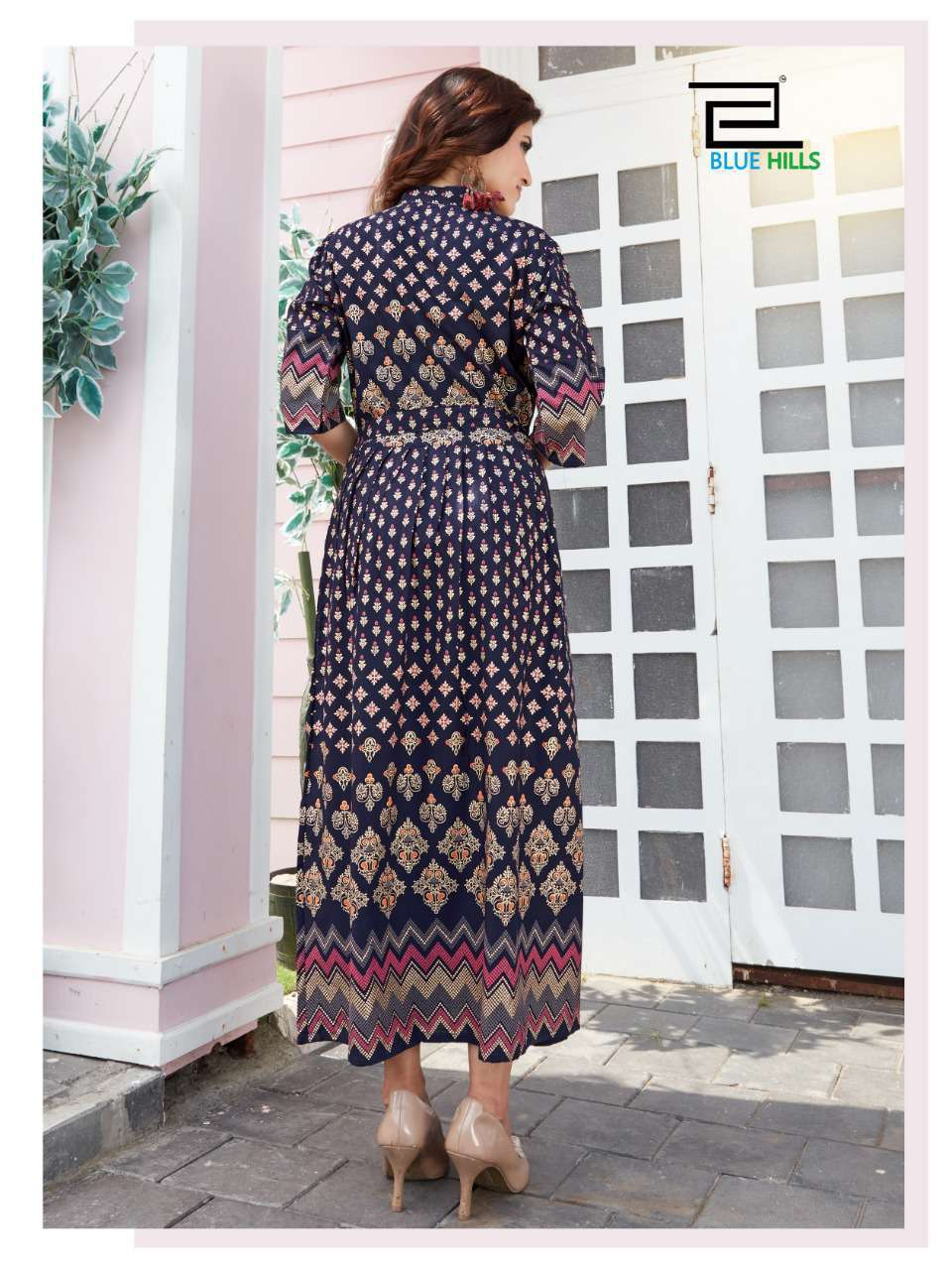 Blue Hills Royal Touch Kurti Wholesale Catalog 4 Pcs 5 - Blue Hills Royal Touch Kurti Wholesale Catalog 4 Pcs