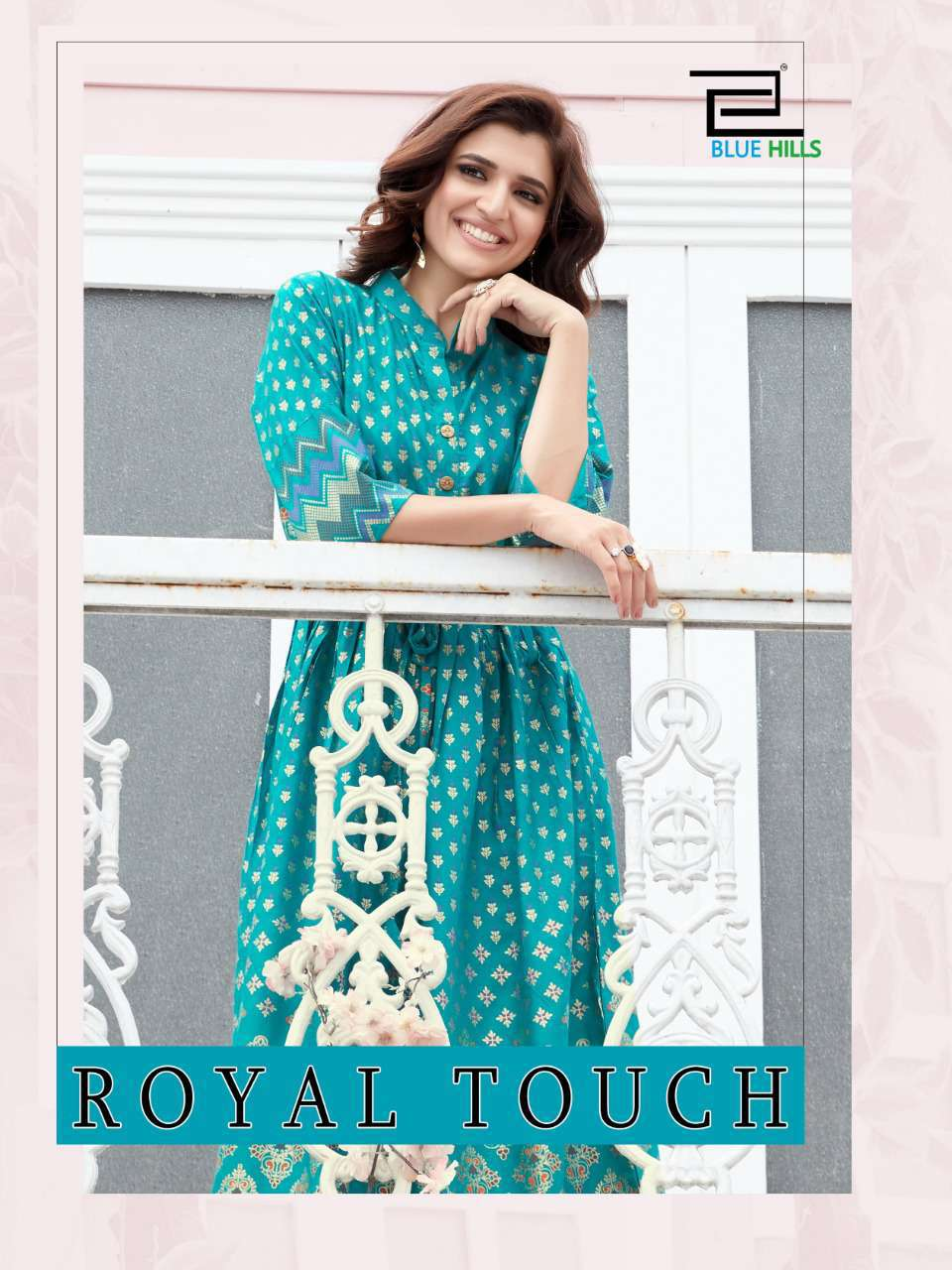 Blue Hills Royal Touch Kurti Wholesale Catalog 4 Pcs 6 - Blue Hills Royal Touch Kurti Wholesale Catalog 4 Pcs