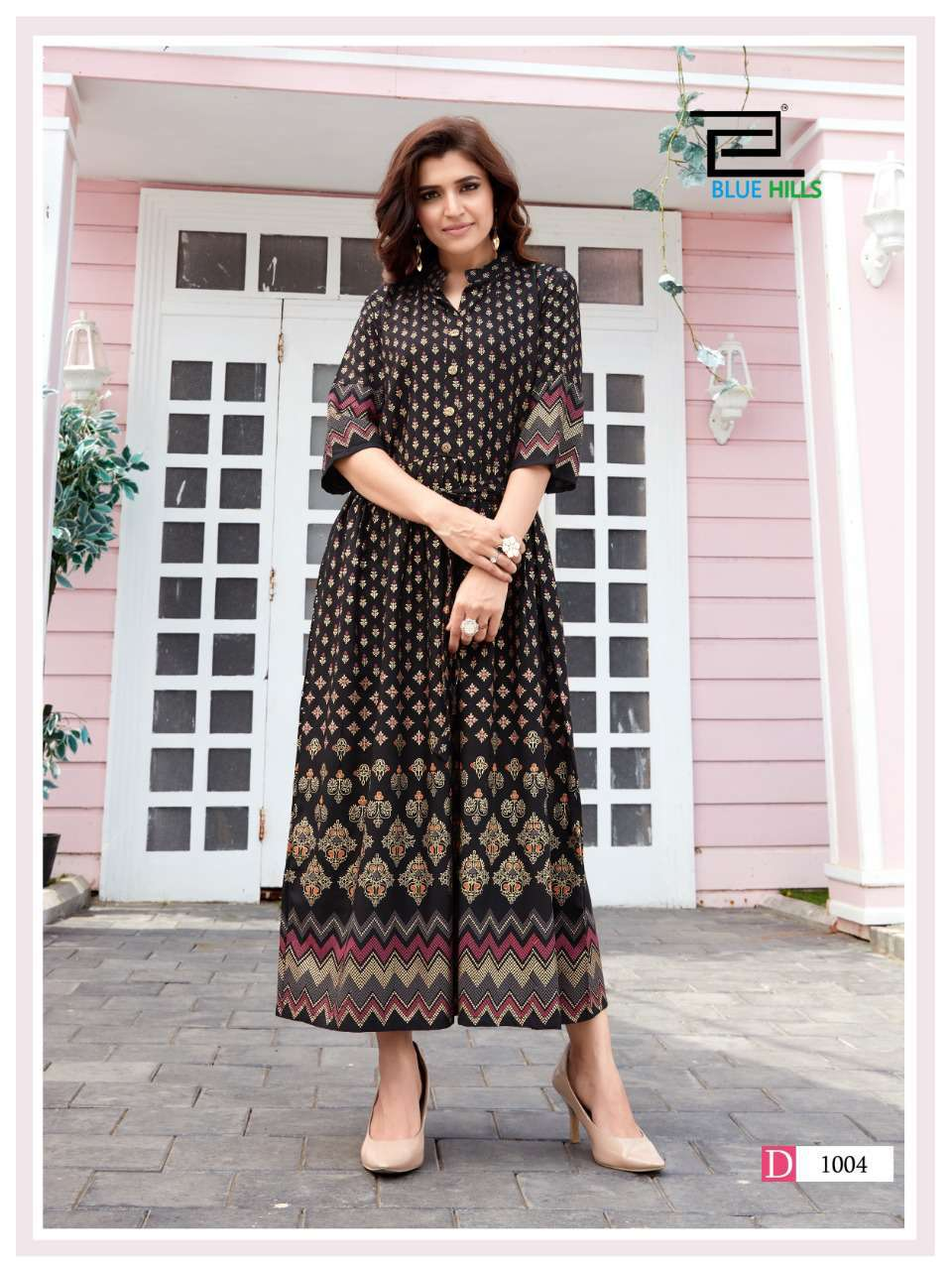 Blue Hills Royal Touch Kurti Wholesale Catalog 4 Pcs 7 - Blue Hills Royal Touch Kurti Wholesale Catalog 4 Pcs