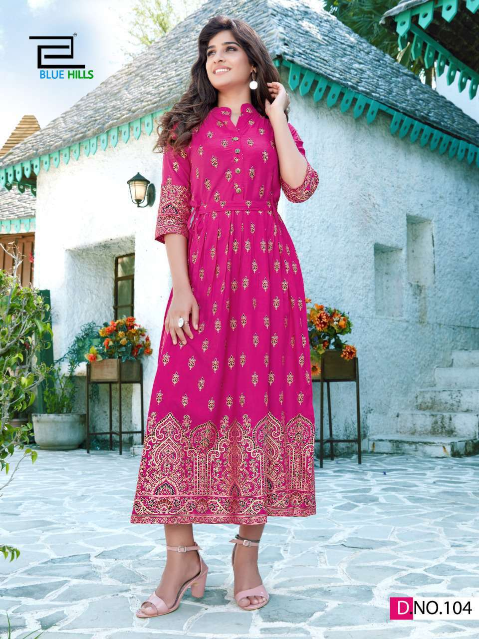 Blue Hills V Desi Kurti Wholesale Catalog 6 Pcs 11 - Blue Hills V Desi Kurti Wholesale Catalog 6 Pcs
