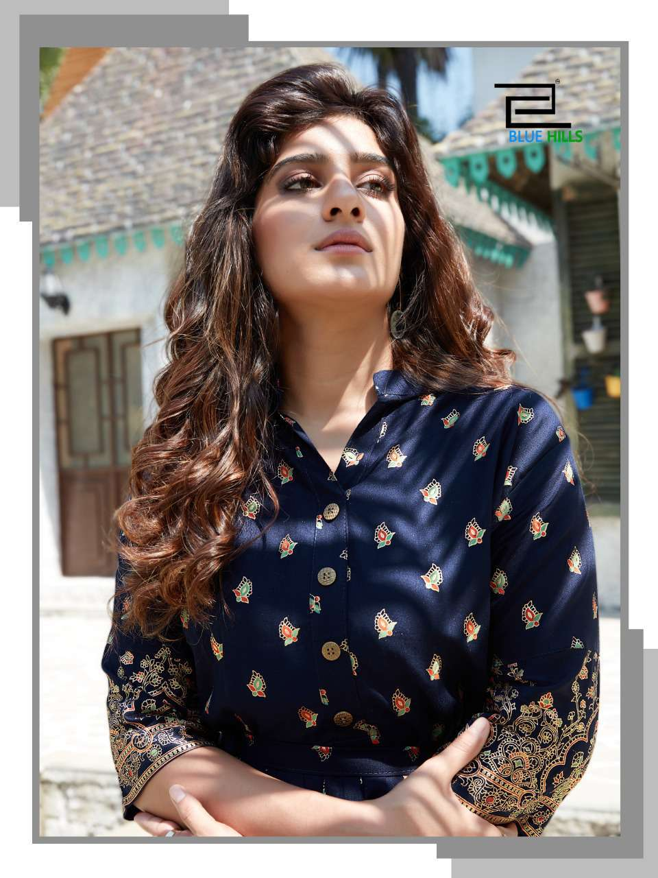 Blue Hills V Desi Kurti Wholesale Catalog 6 Pcs 5 - Blue Hills V Desi Kurti Wholesale Catalog 6 Pcs