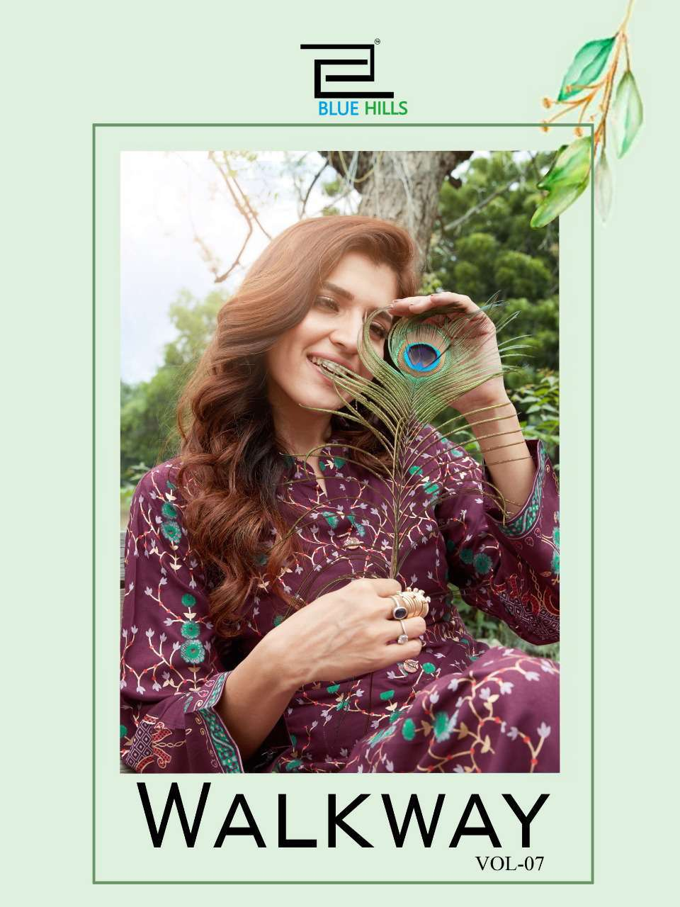 Blue Hills Walkway Vol 7 Kurti Wholesale Catalog 10 Pcs 1 - Blue Hills Walkway Vol 7 Kurti Wholesale Catalog 10 Pcs