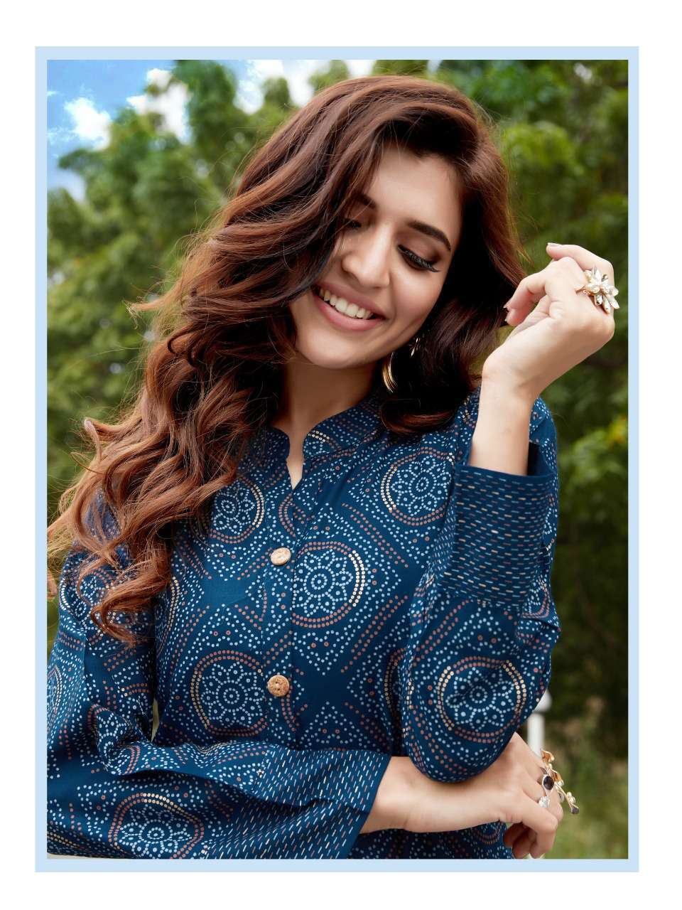 Blue Hills Walkway Vol 7 Kurti Wholesale Catalog 10 Pcs 14 - Blue Hills Walkway Vol 7 Kurti Wholesale Catalog 10 Pcs