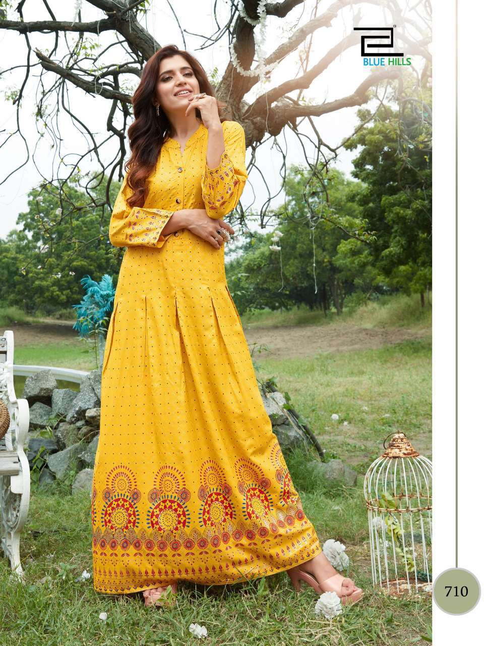 Blue Hills Walkway Vol 7 Kurti Wholesale Catalog 10 Pcs 2 - Blue Hills Walkway Vol 7 Kurti Wholesale Catalog 10 Pcs