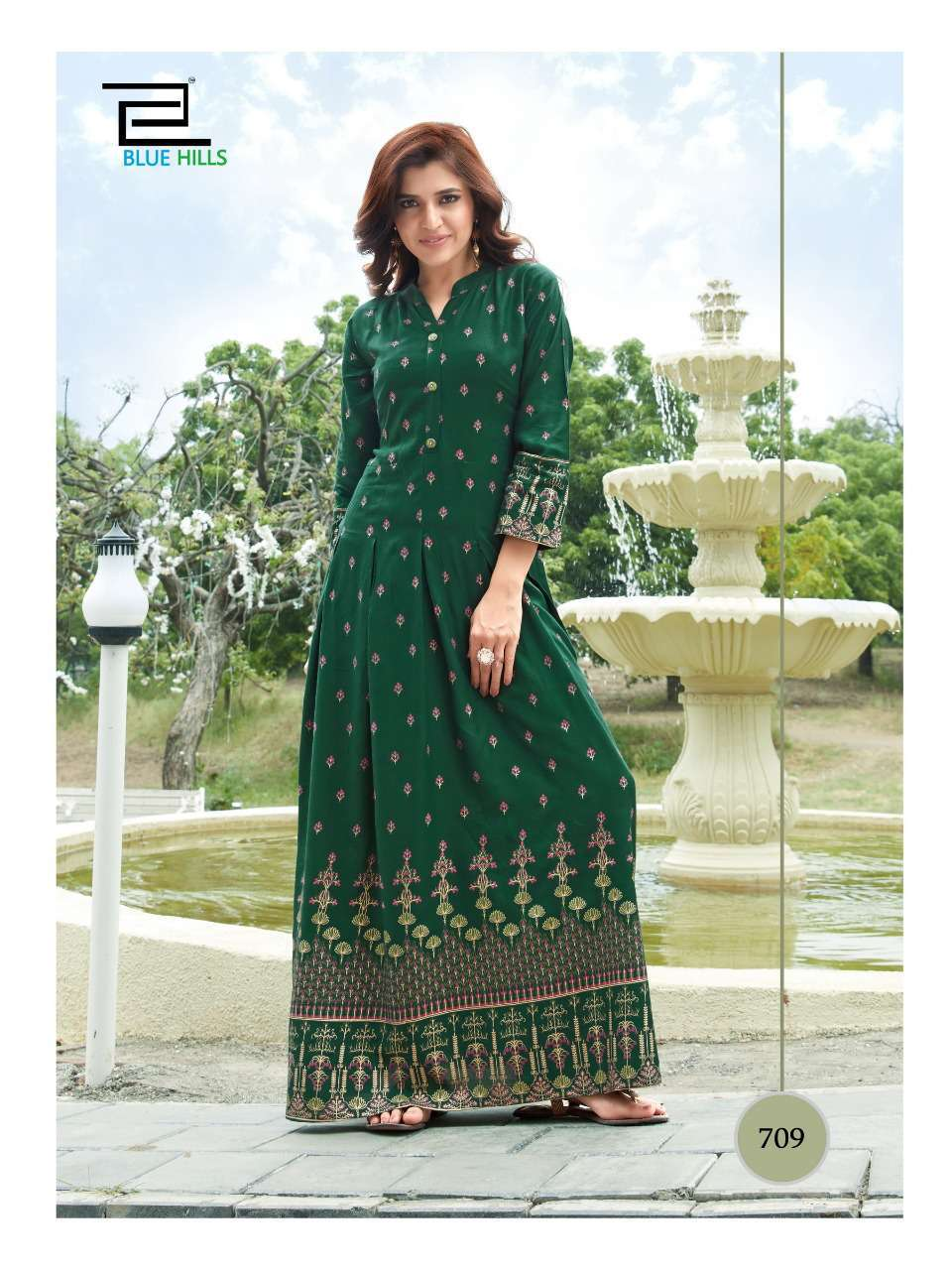 Blue Hills Walkway Vol 7 Kurti Wholesale Catalog 10 Pcs 3 - Blue Hills Walkway Vol 7 Kurti Wholesale Catalog 10 Pcs