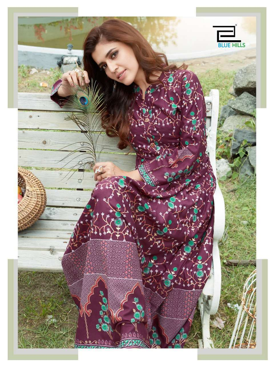 Blue Hills Walkway Vol 7 Kurti Wholesale Catalog 10 Pcs 5 - Blue Hills Walkway Vol 7 Kurti Wholesale Catalog 10 Pcs