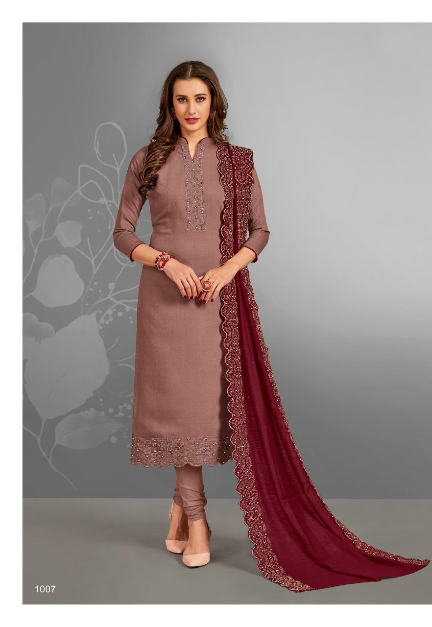 Brij Aiza Salwar Suit Wholesale Catalog 8 Pcs 10 - Brij Aiza Salwar Suit Wholesale Catalog 8 Pcs