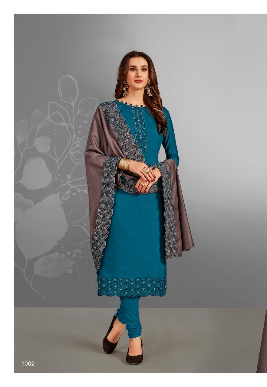 Brij Aiza Salwar Suit Wholesale Catalog 8 Pcs 4 - Brij Aiza Salwar Suit Wholesale Catalog 8 Pcs