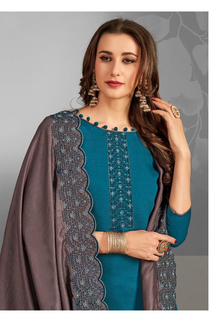 Brij Aiza Salwar Suit Wholesale Catalog 8 Pcs 5 - Brij Aiza Salwar Suit Wholesale Catalog 8 Pcs