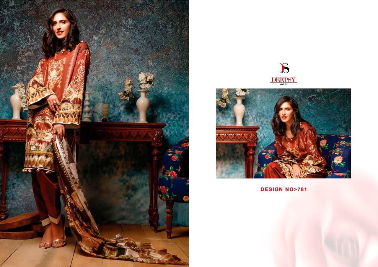 Deepsy Firdous Vol 10 Pashmina Salwar Suit Wholesale Catalog 6 Pcs 3 - Deepsy Firdous Vol 10 Pashmina Salwar Suit Wholesale Catalog 6 Pcs