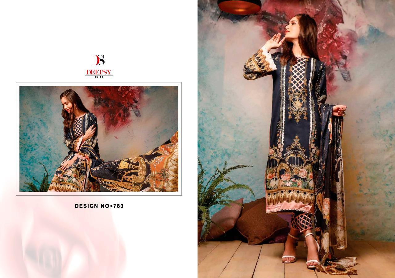 Deepsy Firdous Vol 10 Pashmina Salwar Suit Wholesale Catalog 6 Pcs 5 - Deepsy Firdous Vol 10 Pashmina Salwar Suit Wholesale Catalog 6 Pcs