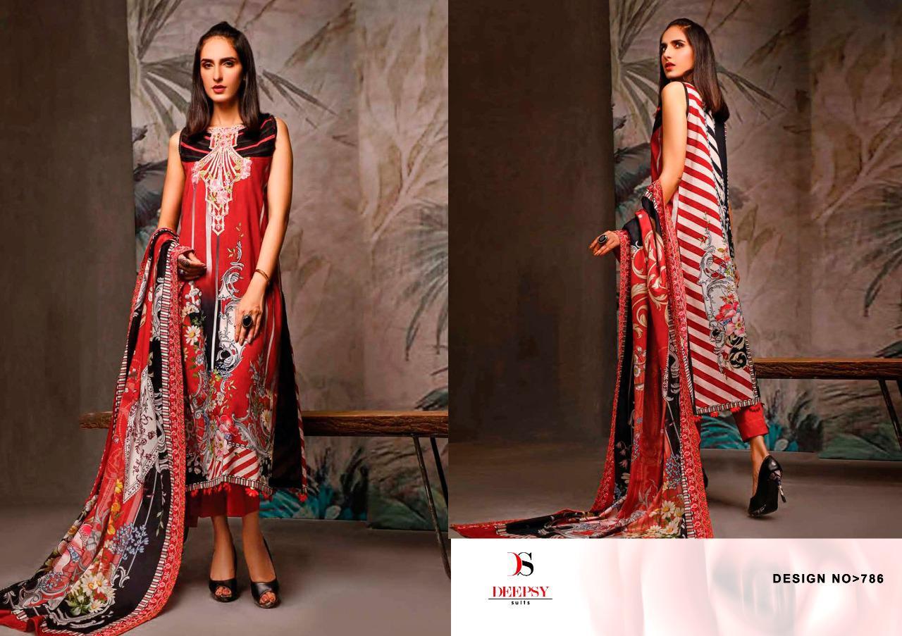 Deepsy Firdous Vol 10 Pashmina Salwar Suit Wholesale Catalog 6 Pcs 7 - Deepsy Firdous Vol 10 Pashmina Salwar Suit Wholesale Catalog 6 Pcs