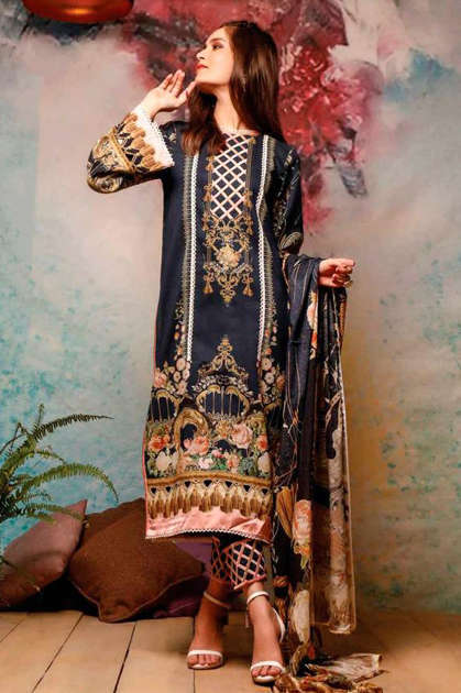 Deepsy Firdous Vol 10 Pashmina Salwar Suit Wholesale Catalog 6 Pcs