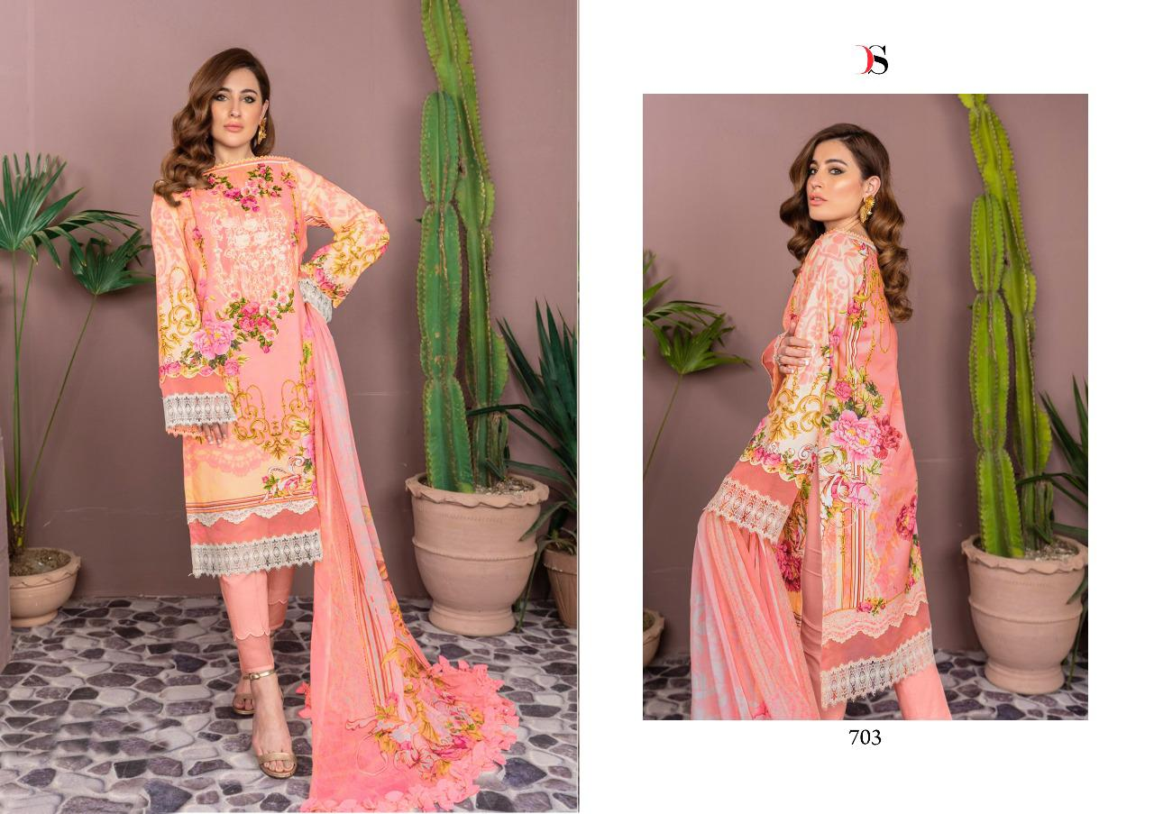 Deepsy Firdous Vol 9 Pashmina Salwar Suit Wholesale Catalog 6 Pcs 6 - Deepsy Firdous Vol 9 Pashmina Salwar Suit Wholesale Catalog 6 Pcs
