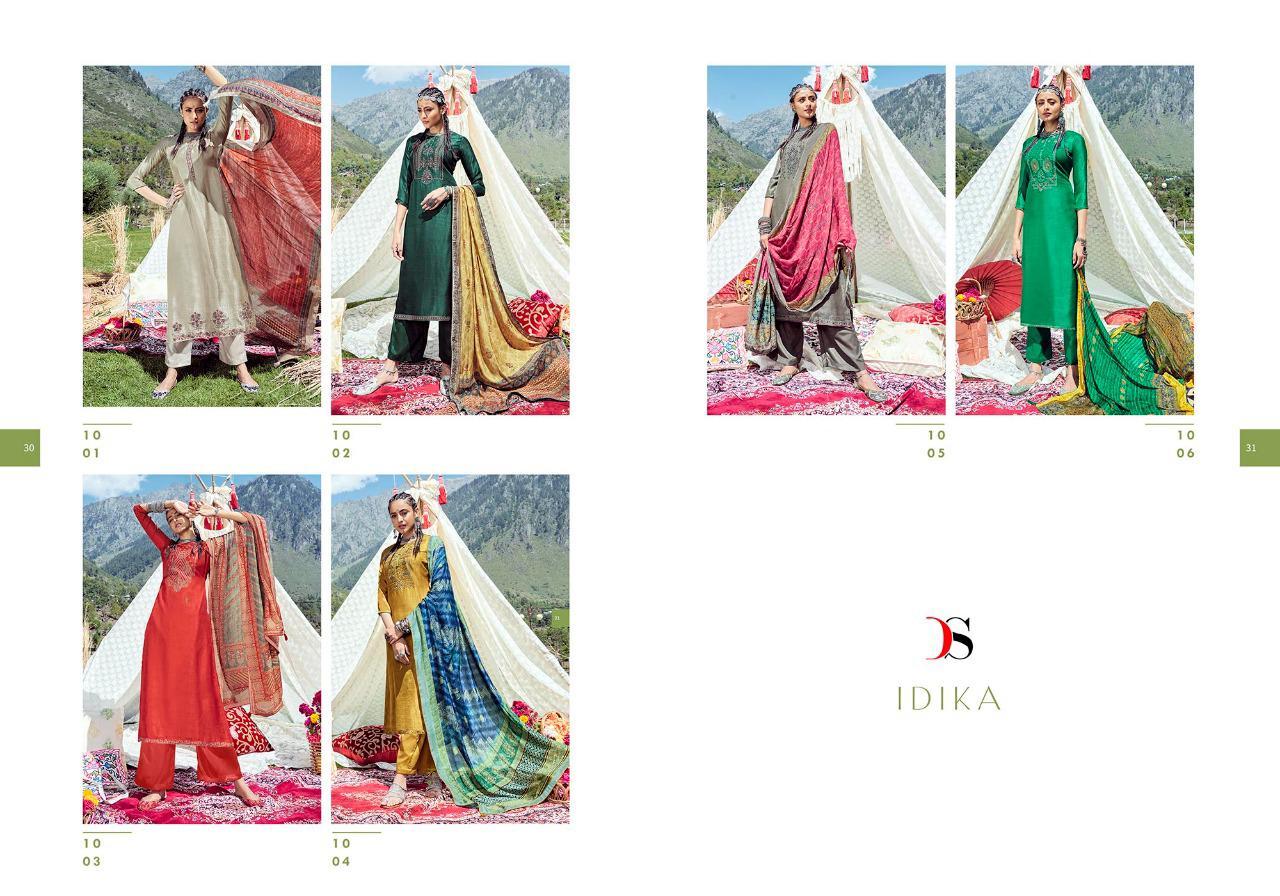 Deepsy Idika Salwar Suit Wholesale Catalog 6 Pcs 15 - Deepsy Idika Salwar Suit Wholesale Catalog 6 Pcs