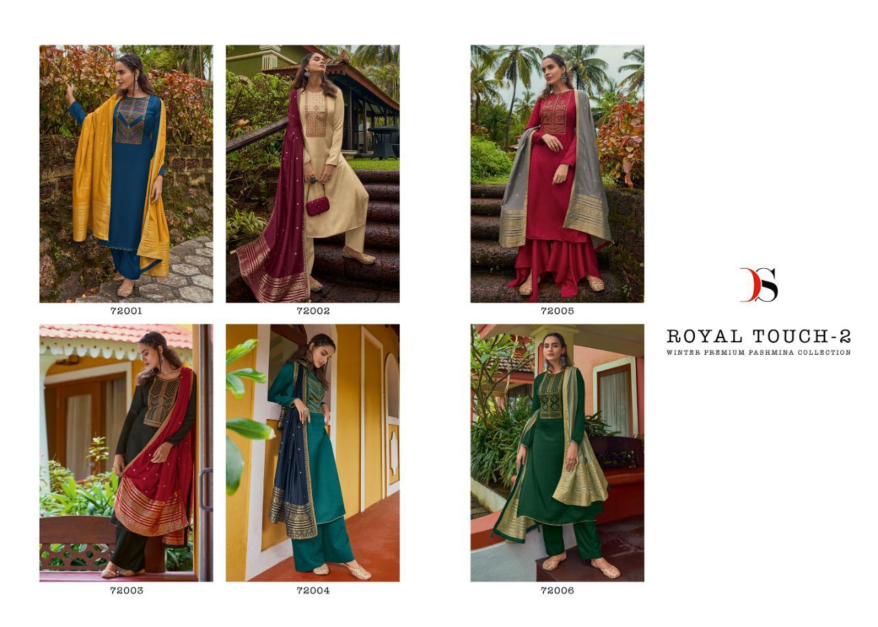 Deepsy Royal Touch Vol 2 Pashmina Salwar Suit Wholesale Catalog 6 Pcs 14 - Deepsy Royal Touch Vol 2 Pashmina Salwar Suit Wholesale Catalog 6 Pcs
