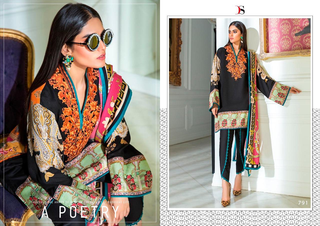 Deepsy Sana Safinaz Muzlin Pashmina Salwar Suit Wholesale Catalog 6 Pcs 4 - Deepsy Sana Safinaz Muzlin Pashmina Salwar Suit Wholesale Catalog 6 Pcs