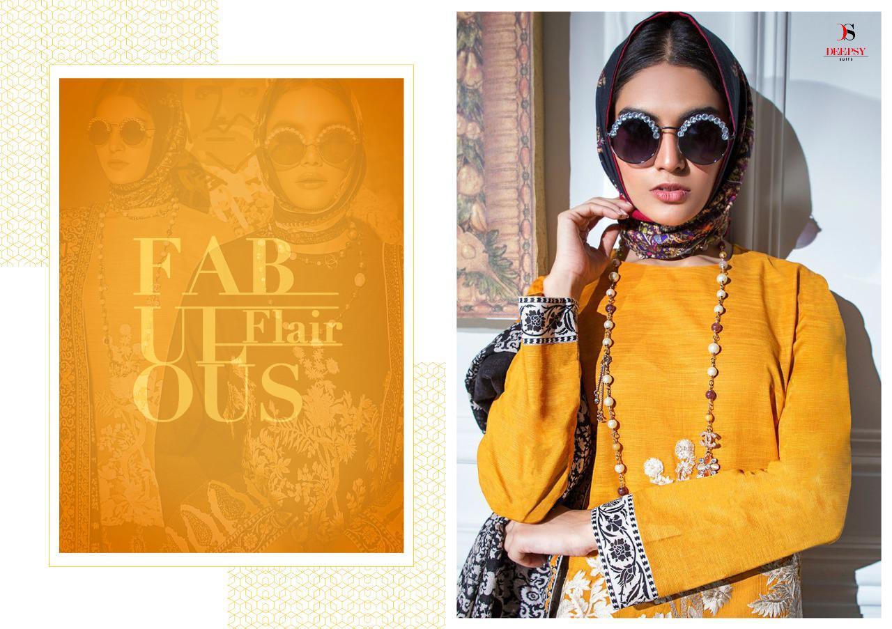 Deepsy Sana Safinaz Muzlin Pashmina Salwar Suit Wholesale Catalog 6 Pcs 7 - Deepsy Sana Safinaz Muzlin Pashmina Salwar Suit Wholesale Catalog 6 Pcs