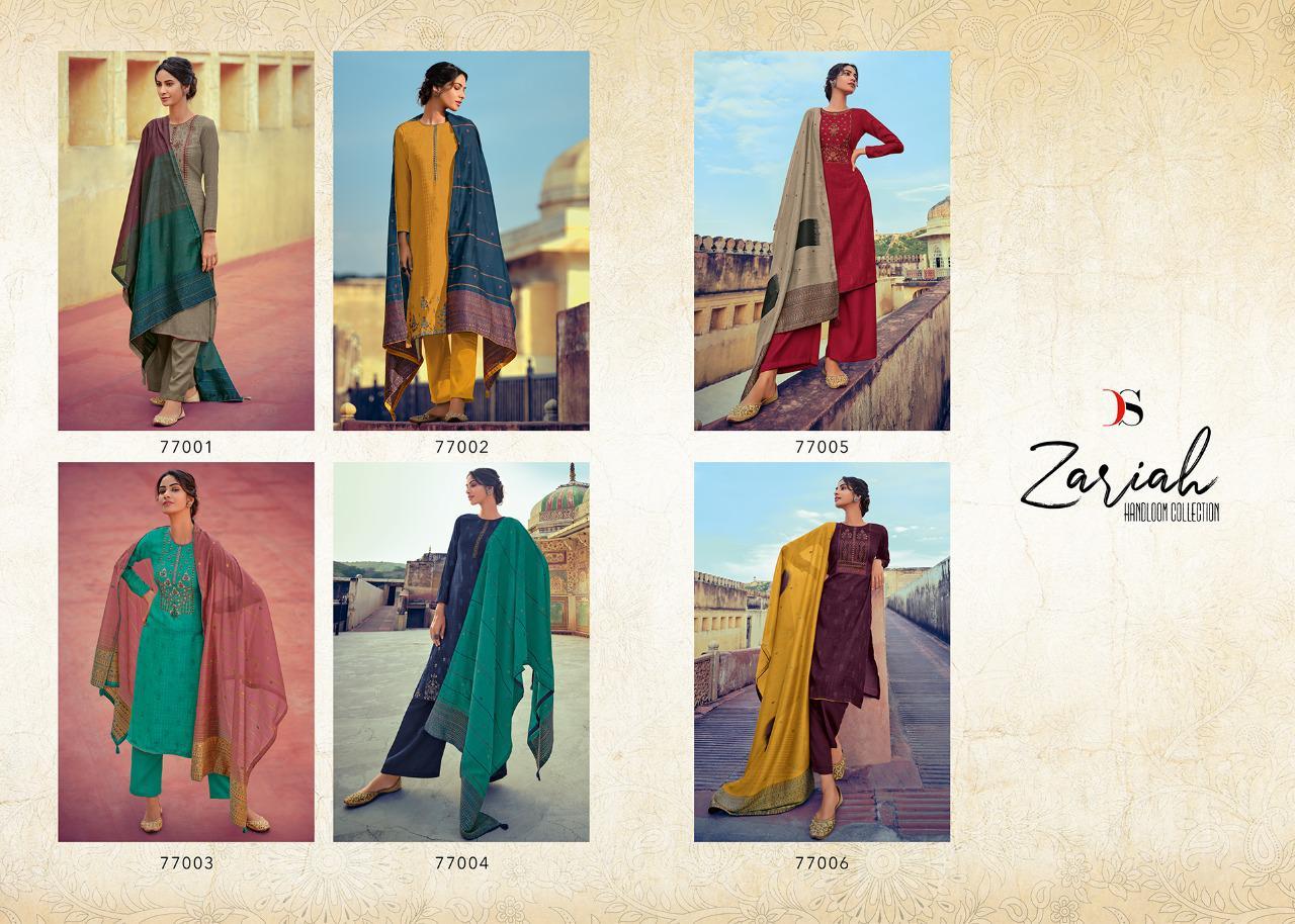 Deepsy Zariah Pashmina Salwar Suit Wholesale Catalog 6 Pcs 13 - Deepsy Zariah Pashmina Salwar Suit Wholesale Catalog 6 Pcs