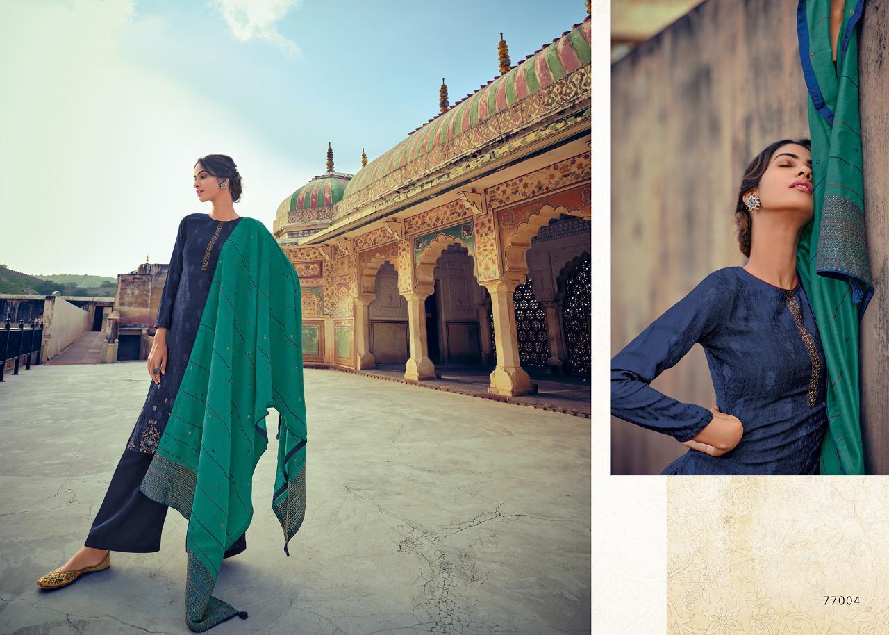 Deepsy Zariah Pashmina Salwar Suit Wholesale Catalog 6 Pcs 6 - Deepsy Zariah Pashmina Salwar Suit Wholesale Catalog 6 Pcs