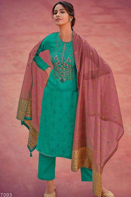Deepsy Zariah Pashmina Salwar Suit Wholesale Catalog 6 Pcs