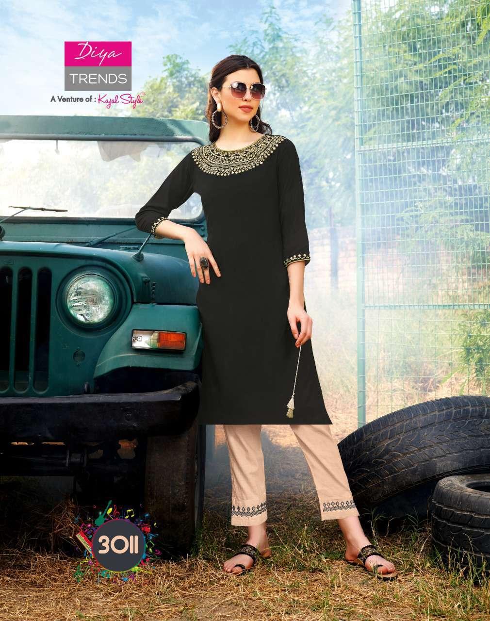 Diya Trends Forever Vol 3 by Kajal Style Kurti with Pant Wholesale Catalog 12 Pcs 11 - Diya Trends Forever Vol 3 by Kajal Style Kurti with Pant Wholesale Catalog 12 Pcs