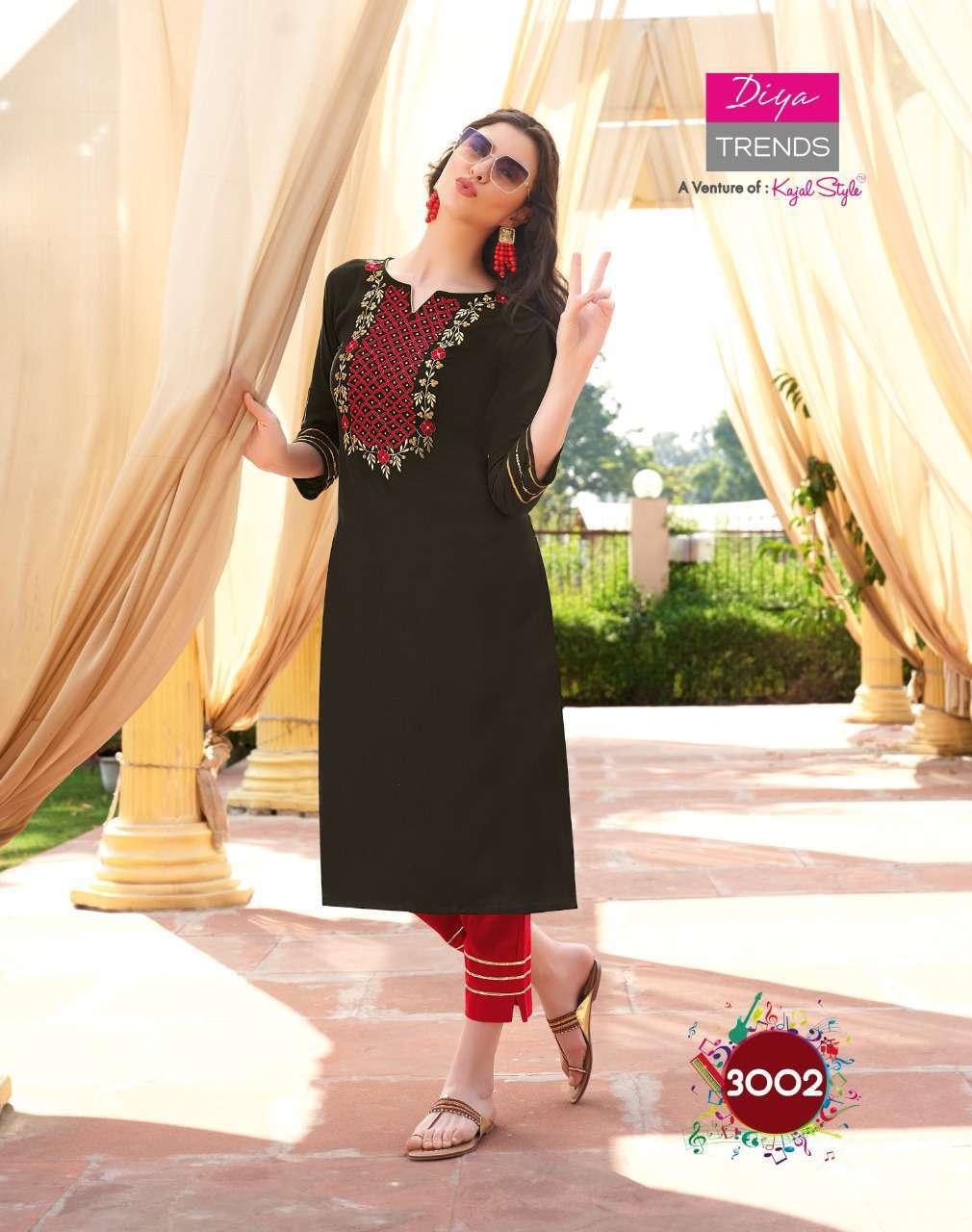 Diya Trends Forever Vol 3 by Kajal Style Kurti with Pant Wholesale Catalog 12 Pcs 2 - Diya Trends Forever Vol 3 by Kajal Style Kurti with Pant Wholesale Catalog 12 Pcs
